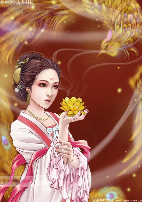 古风插画教程《莲花灯》(下)